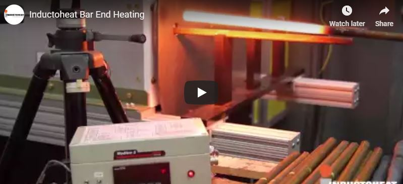 Inductoheat Bar-End Heating Systems