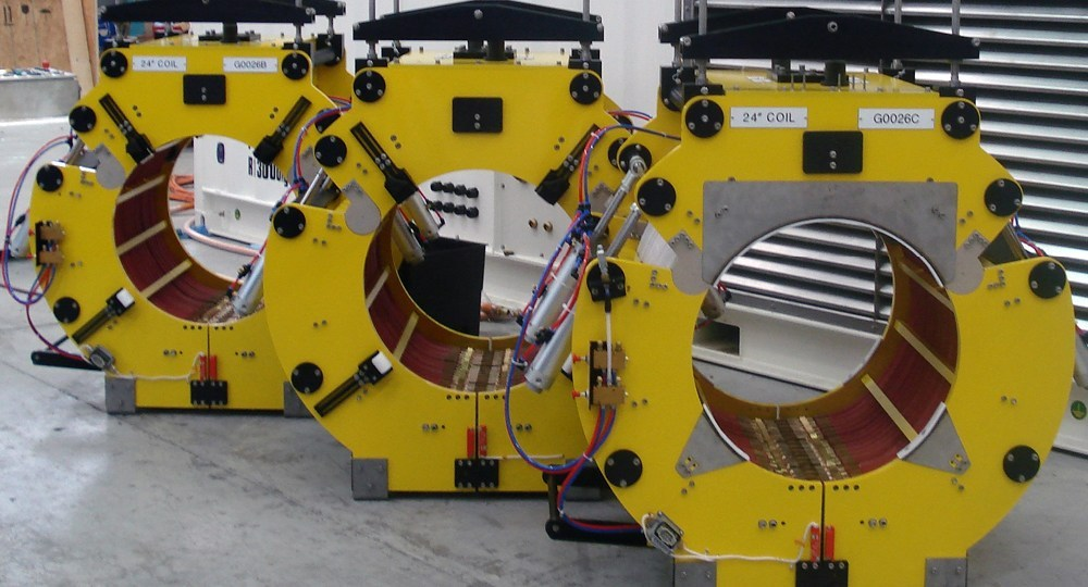 Radyne Containerised Offshore Pipe Heaters